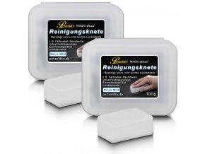 2x100 petzoldts weisse magic clean reinigungsknete extra mild