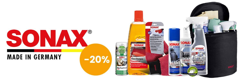 Akce Sonax -20%