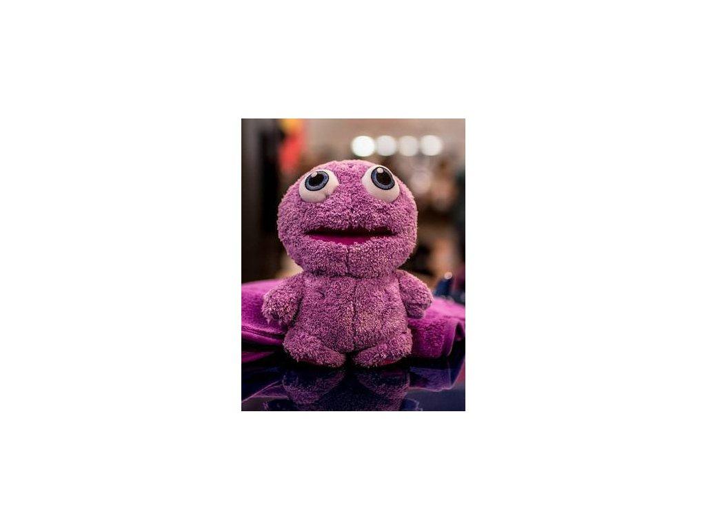 liquid elements purple monster toy