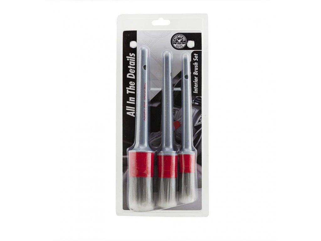 chemicalguys interior cleaning brushes 1