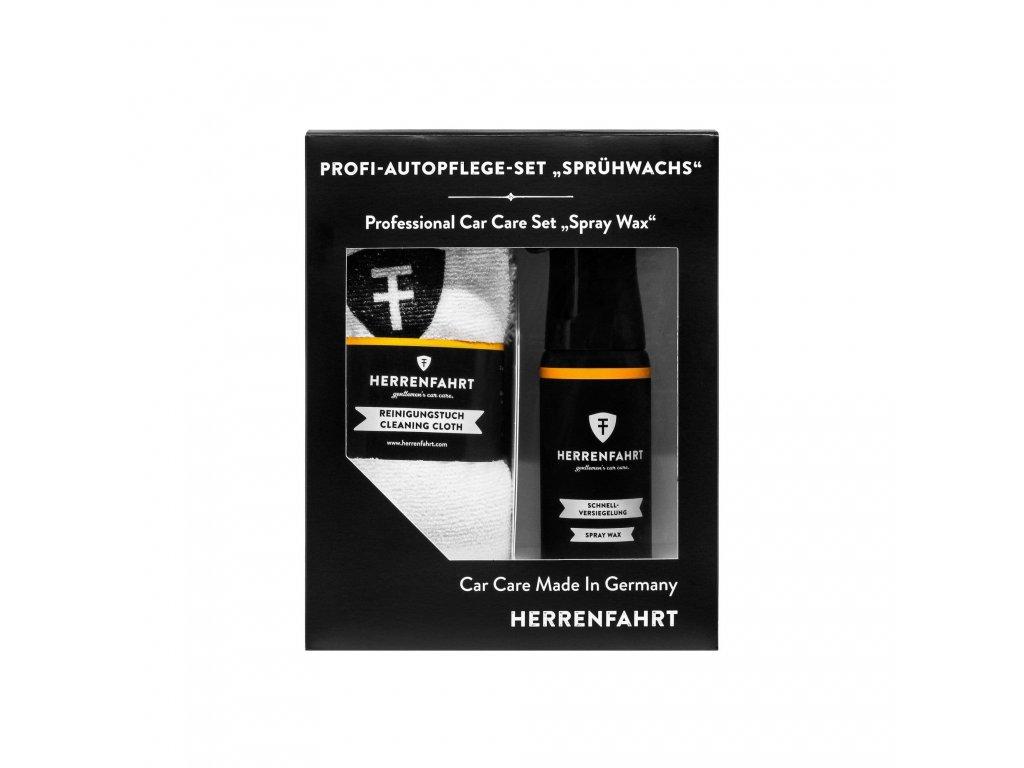 herrenfahrt spray wax kit