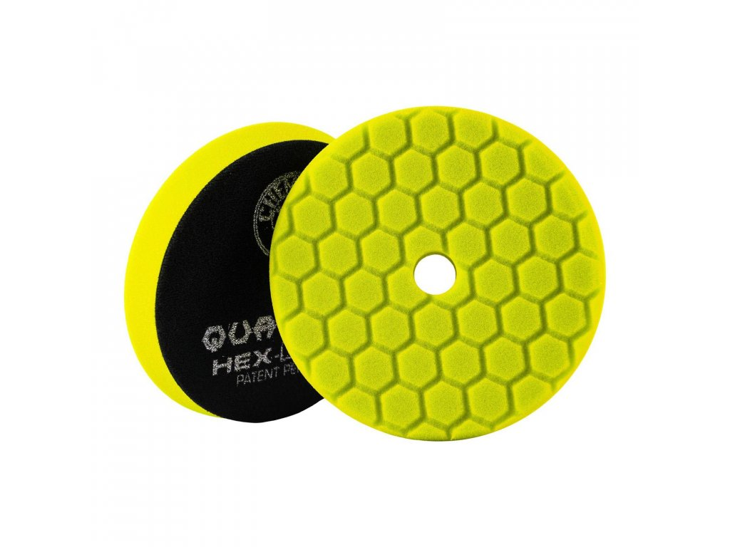 chemical guys quantum hex logic yellow 140 mm