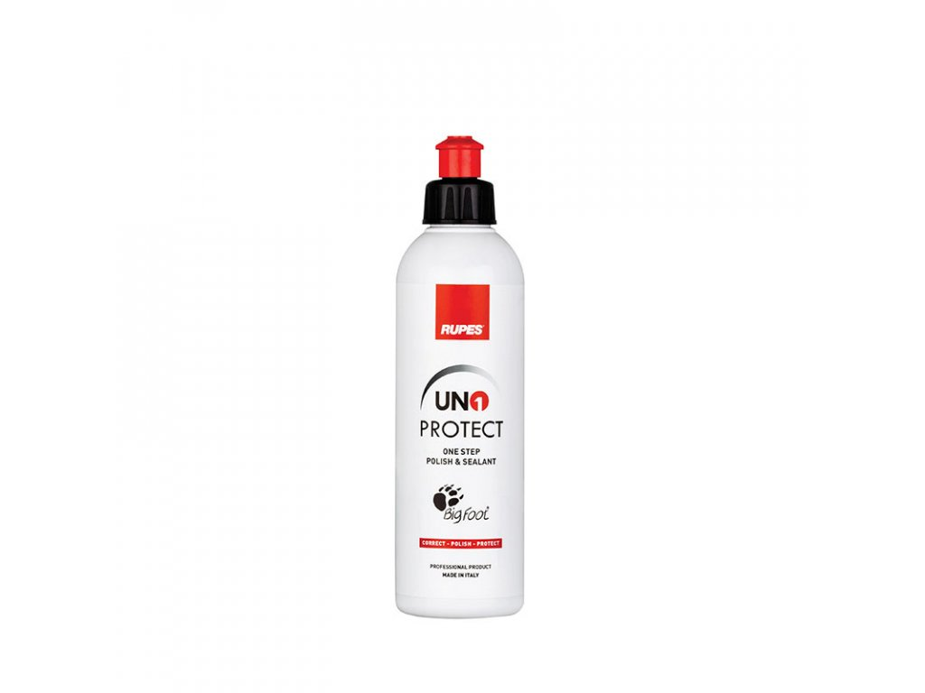 rupes uno protect one step polish and sealant compound 250ml bottle