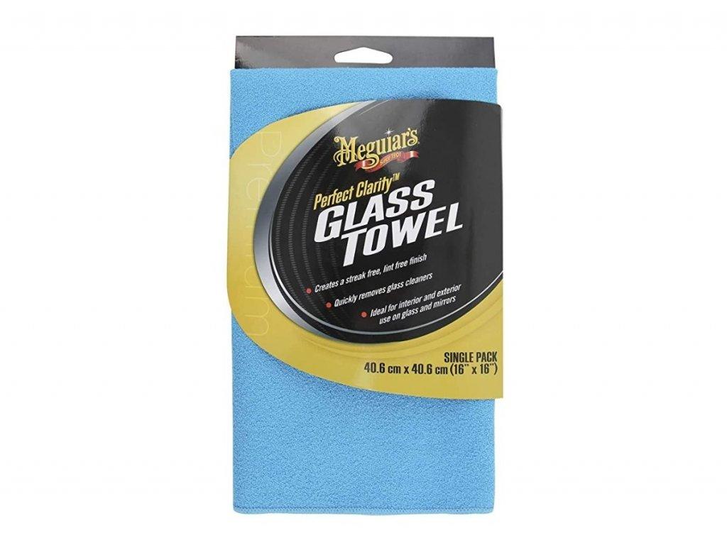 x190301 meguiars perfect clarity glass towel mikrovlaknova uterka na okna