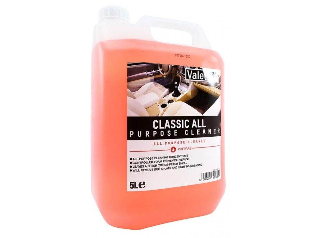 valetpro classic all purpose cleaner 5l
