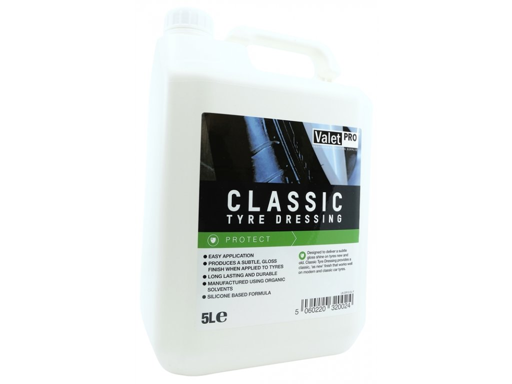 valetpro classic tyre dressing 5l