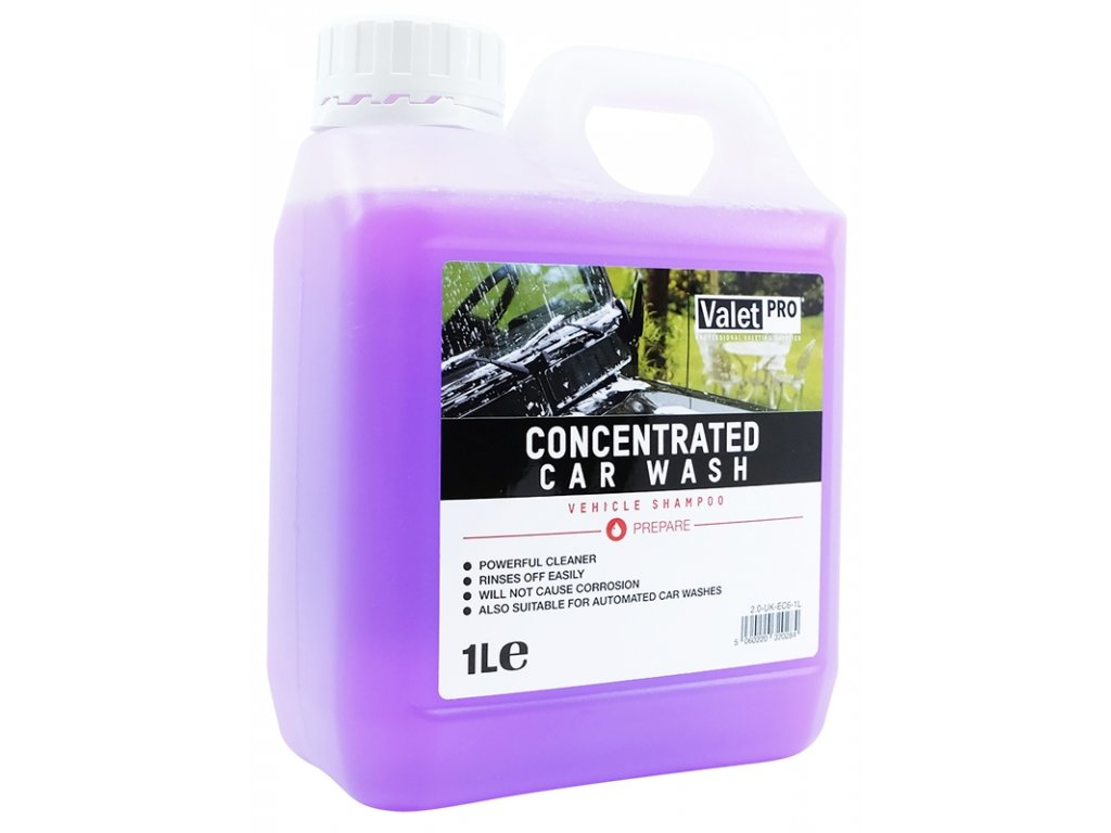 valetpro concentrated car wash 1l