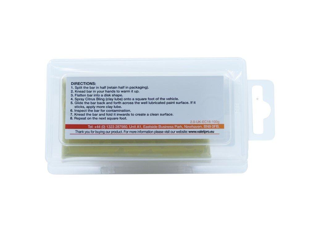 ValetPro Contamination Remover Yellow 100g středně tvrdý clay