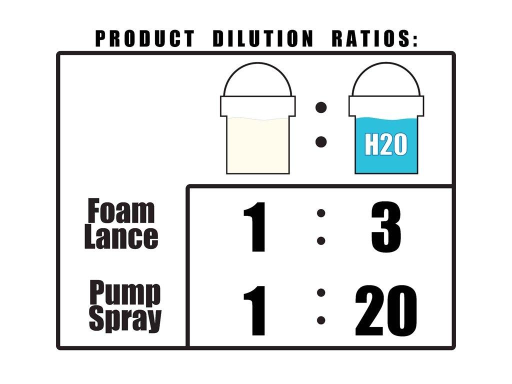 ValetPro pH Neutral Snow Foam 1L aktivní pěna