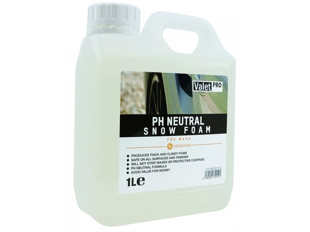 valetpro ph neutral snow foam 1l
