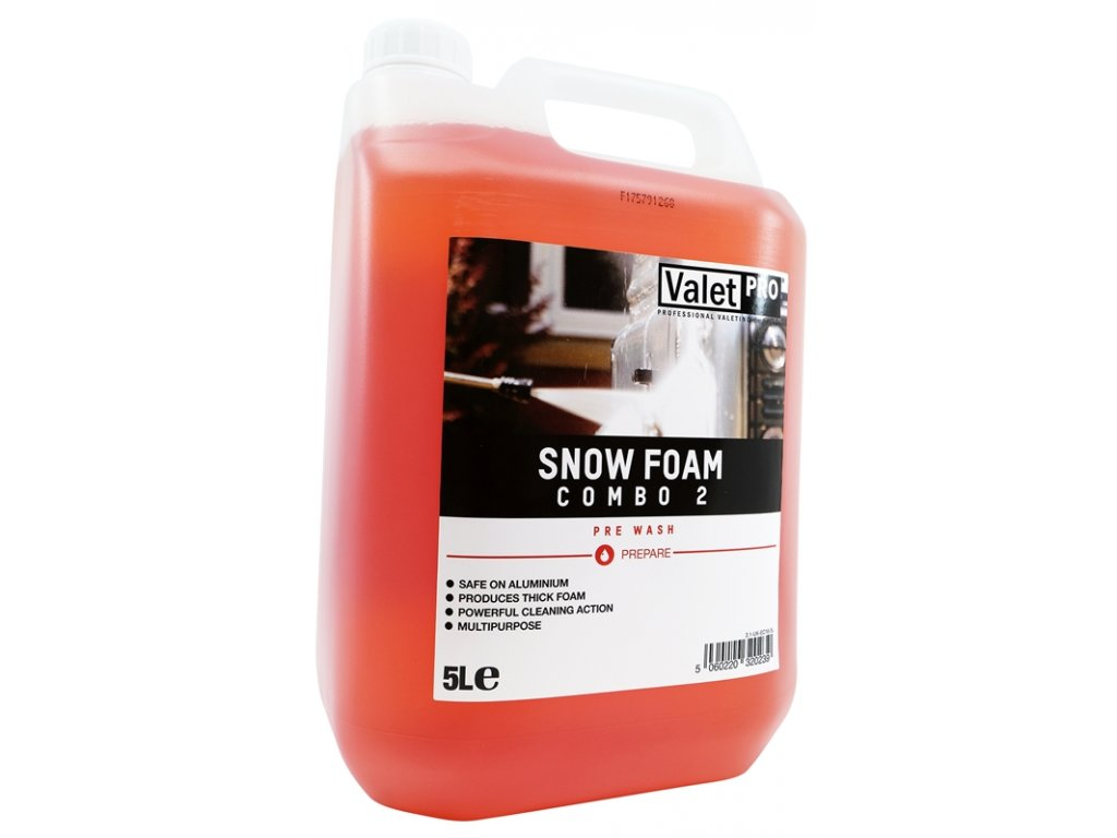 valetpro snow foam combo 2 5l