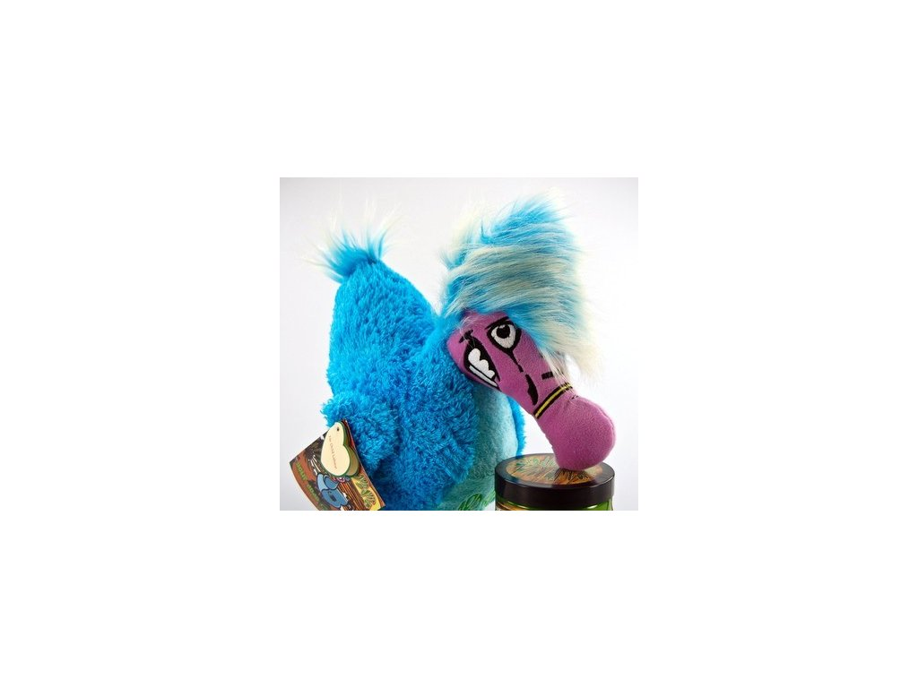 Dodo Juice stuffed dodo mascot v sáčku