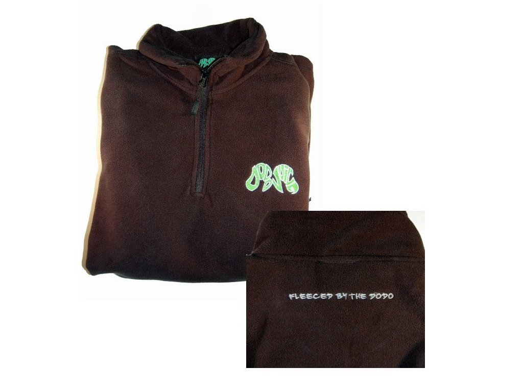 Dodo Juice Half-zip Detailing Fleece mikina na zip