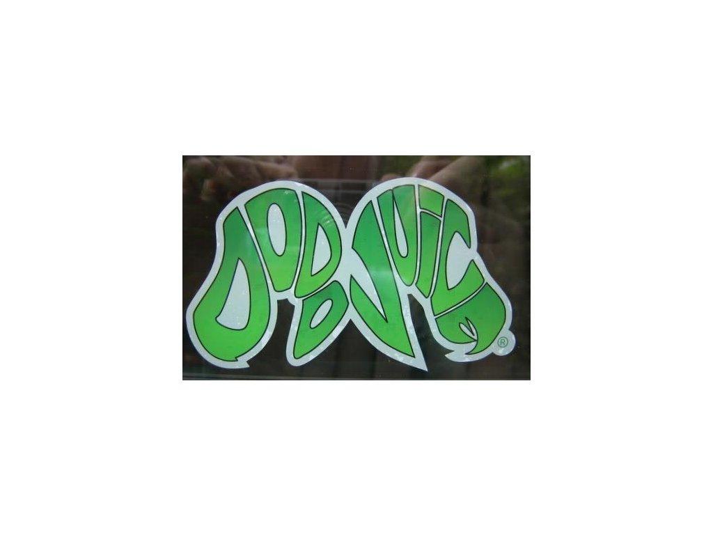 Dodo Juice logo window clinger, 68x125mm samolepka vnitřní