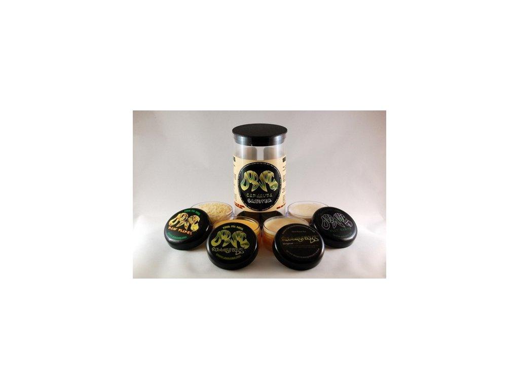 Dodo Juice Carnauba Canister Wax Explorer Sample Kit 4x30ml