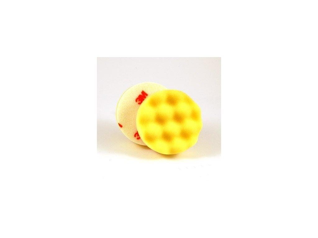 3M 50536 Car Care Yellow Polishing Pad 75mm leštící kotouč
