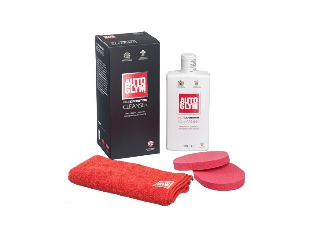 Autoglym High Definition Cleanser 500ml sada na leštění laku