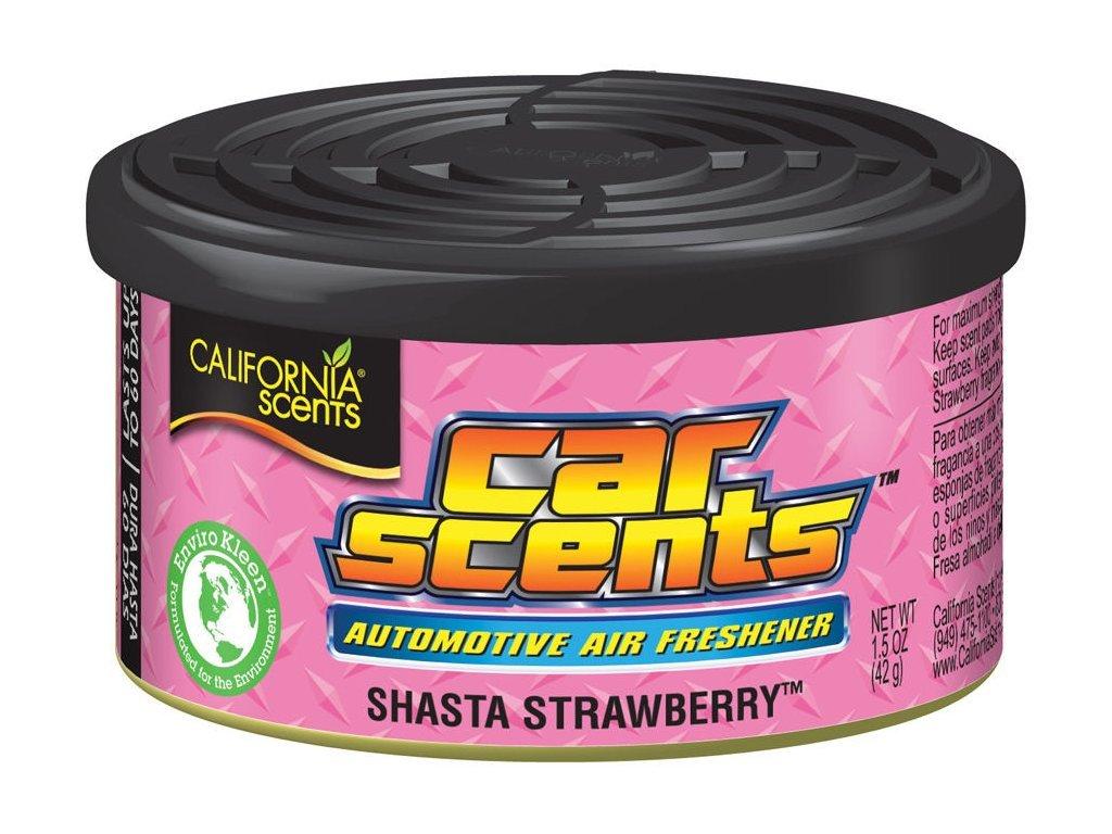 California Scents Shasta Strawberry vůně do auta Jahoda