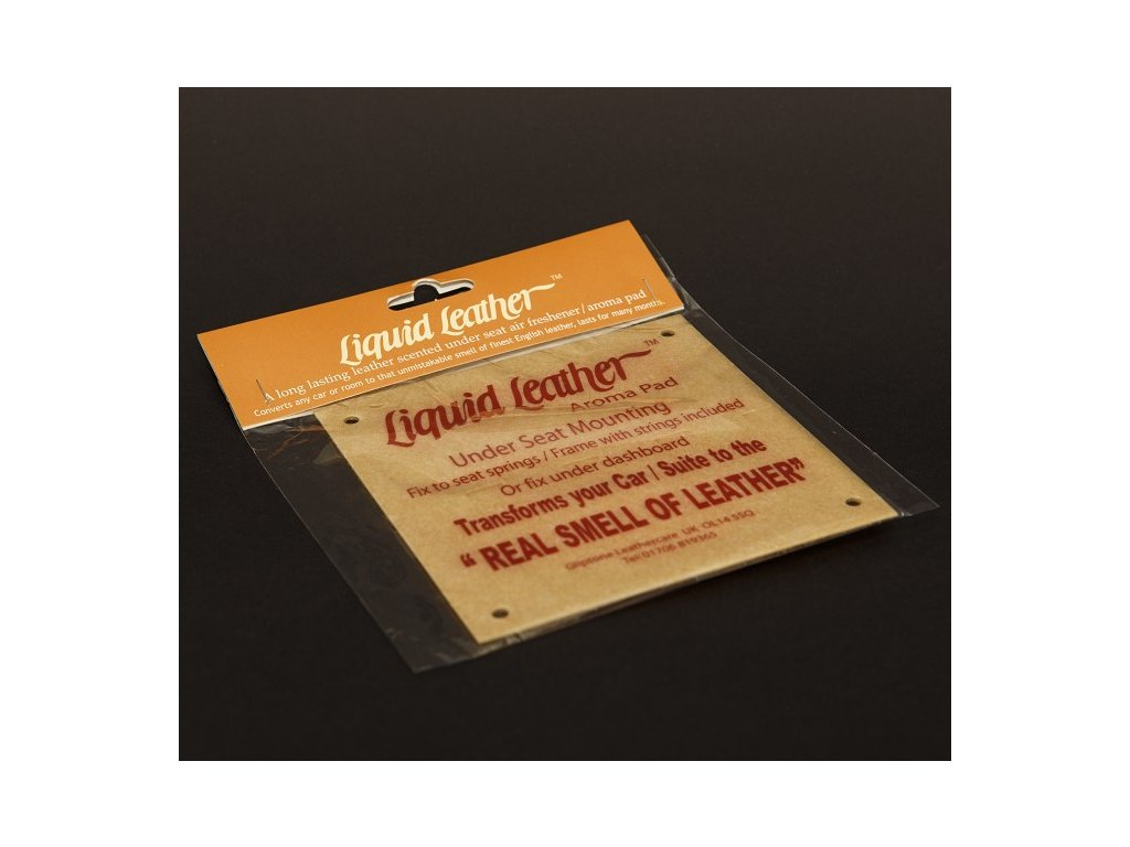 Gliptone Liquid Leather Air Freshener Large - vůně kůže