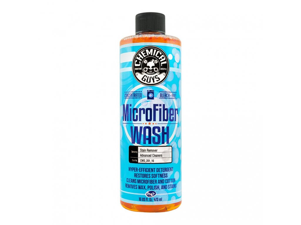 chemicalguys cws 201 16 microfiber wash rejuvenator cleaning detergent concentrate 473ml