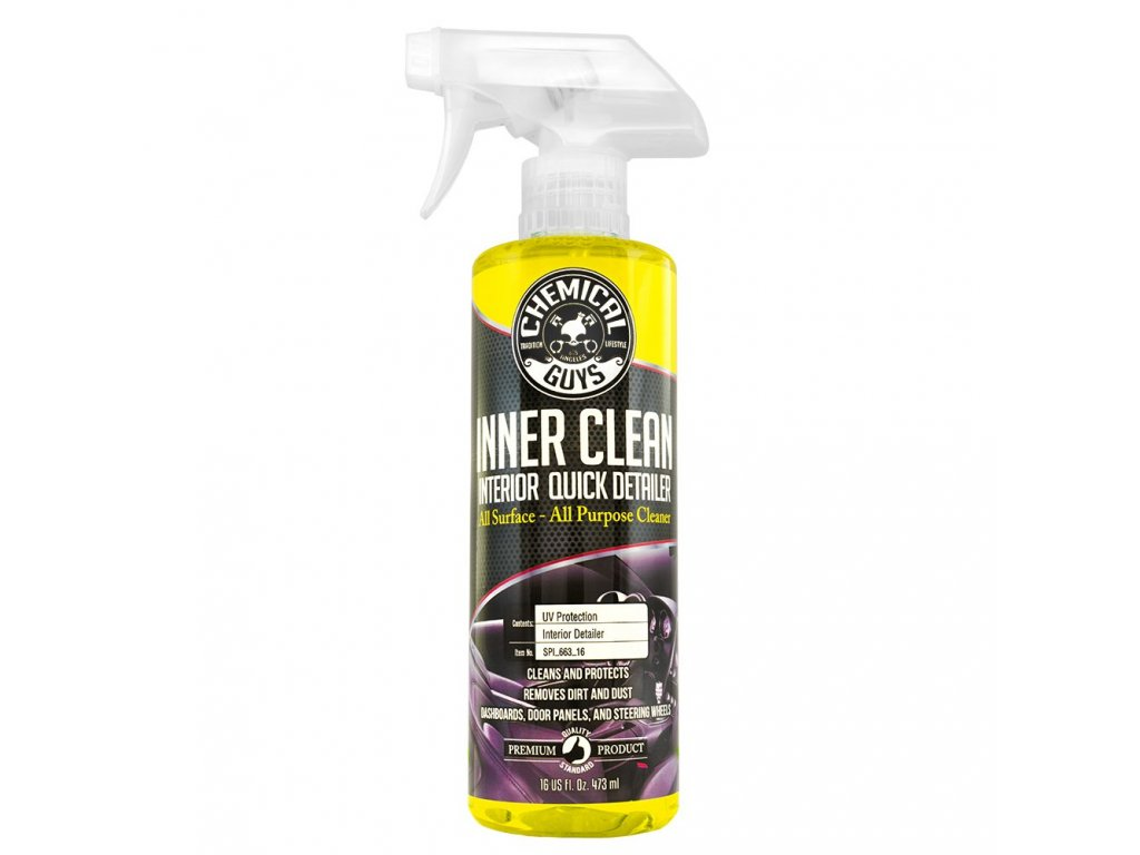 Chemical Guys InnerClean Interior Quick Detailer & Protectant 473ml čistič interiéru