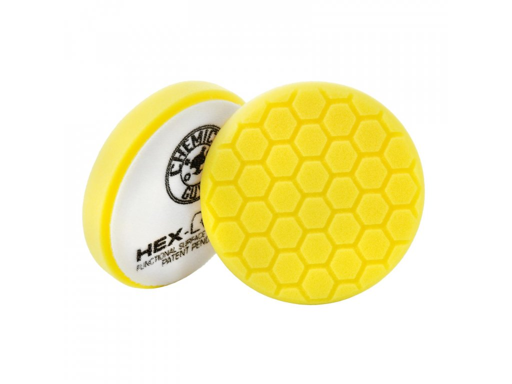 chemical guys hex logic yellow 140 mm
