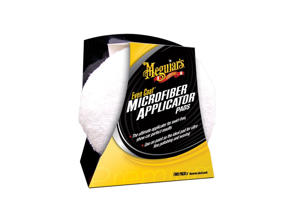x3080 meguiars even coat microfiber applicator pads