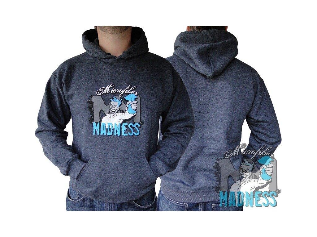 "Microfiber Madness Styles Hoodie ""Logo"" mikina"