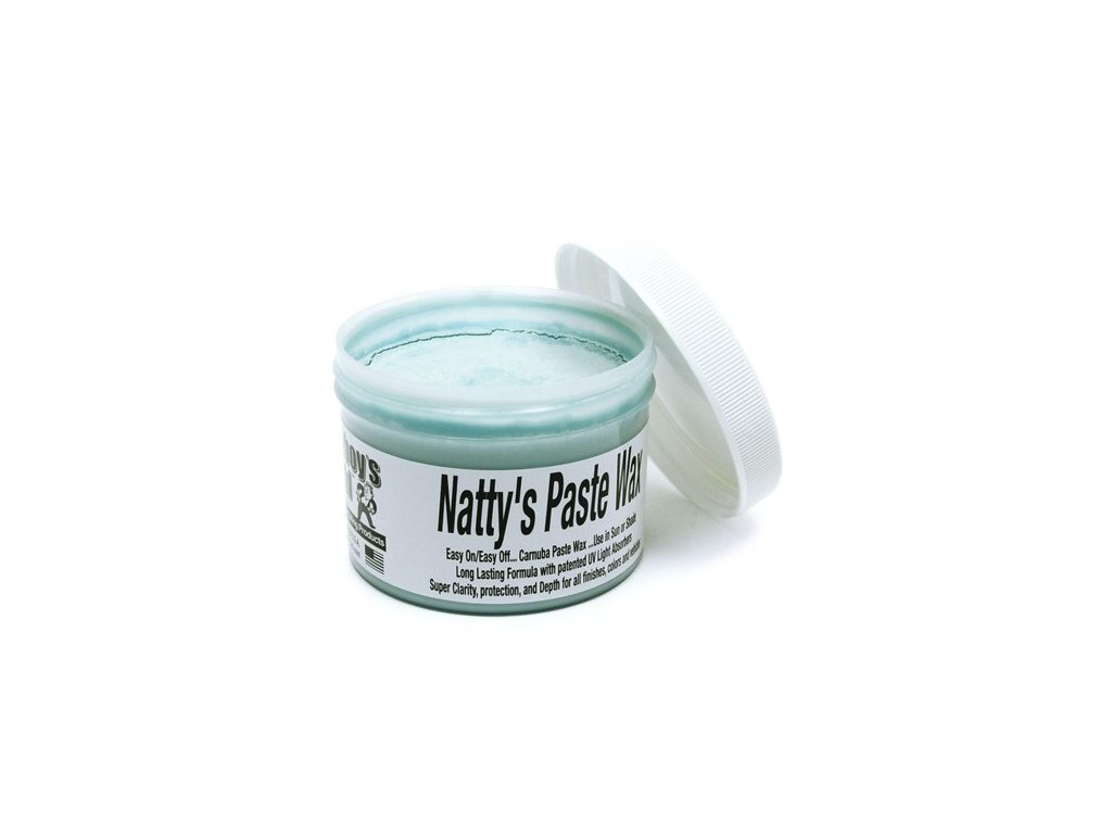 Poorboys Natty's Paste Wax Blue 235ml tvrdý vosk