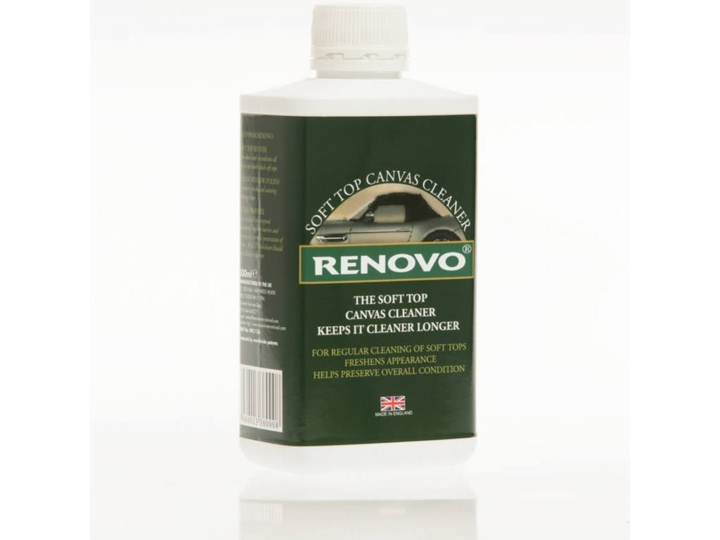 Renovo Soft Top Fabric Cleaner 500ml čistič textilních střech