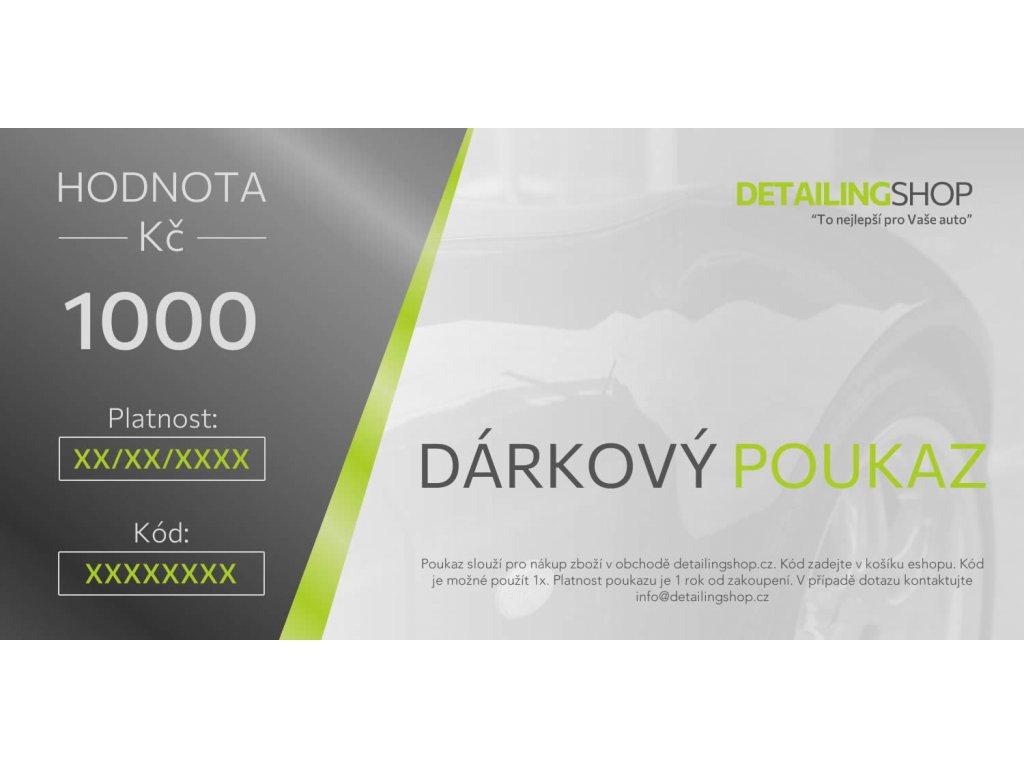 Darkovy poukaz DS 2021 1000 vzor