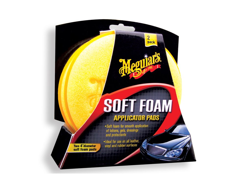 Meguiars Soft Foam Applicator Pad 2ks pěnový aplikátor