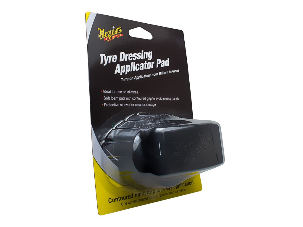 x3090 meguiars tyre dressing applicator pad 1