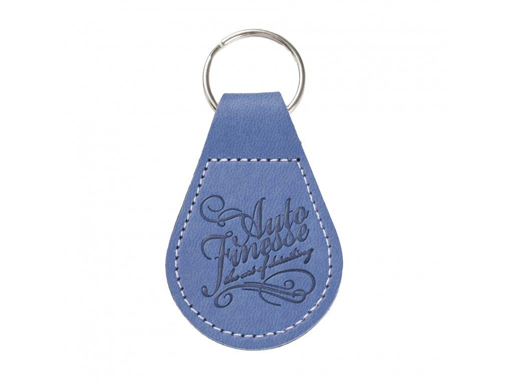auto finesse key ring blue