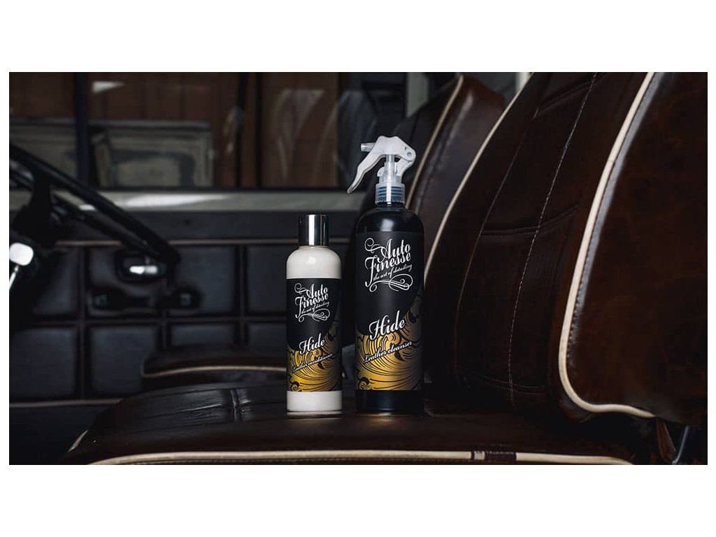Auto Finesse Hide Leather Cleanser 500ml čistič kůže
