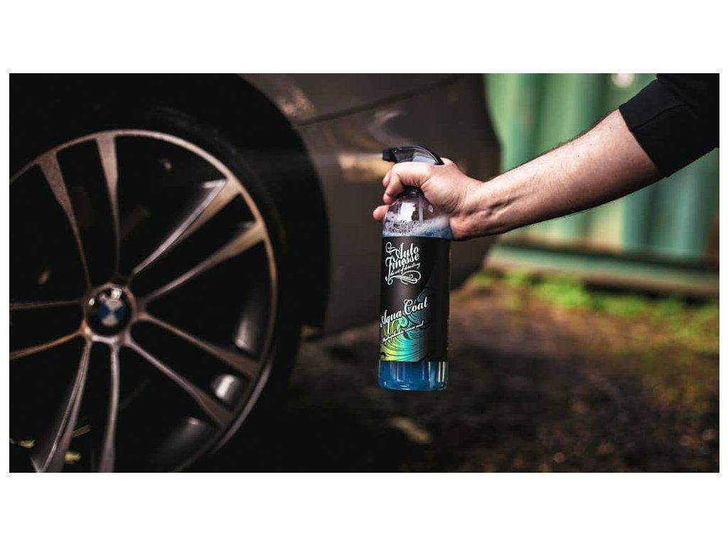 Auto Finesse Aqua Coat Hydrophobic Rinse Aid 1L křemičitý sealant