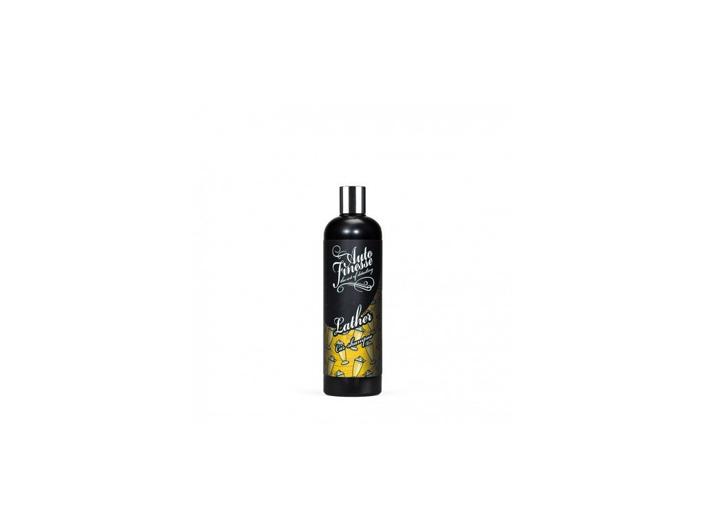 Auto Finesse Lather Banana pH Neutral Car Shampoo 500ml autošampon