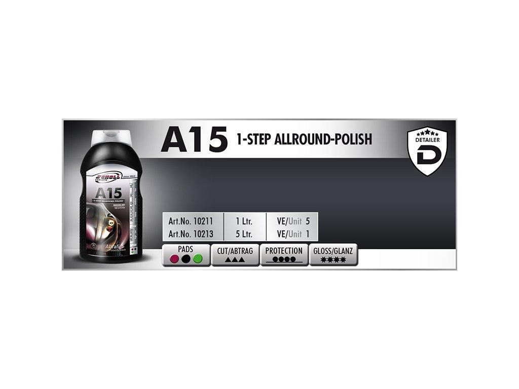 Scholl A15+ 1-Step Allround Polish 1L leštěnka s voskem