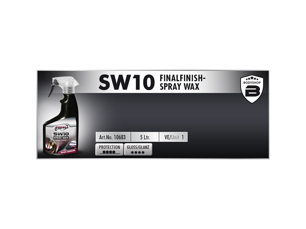 Scholl SW10 FinalFinish Spray Wax 5L tekutý vosk