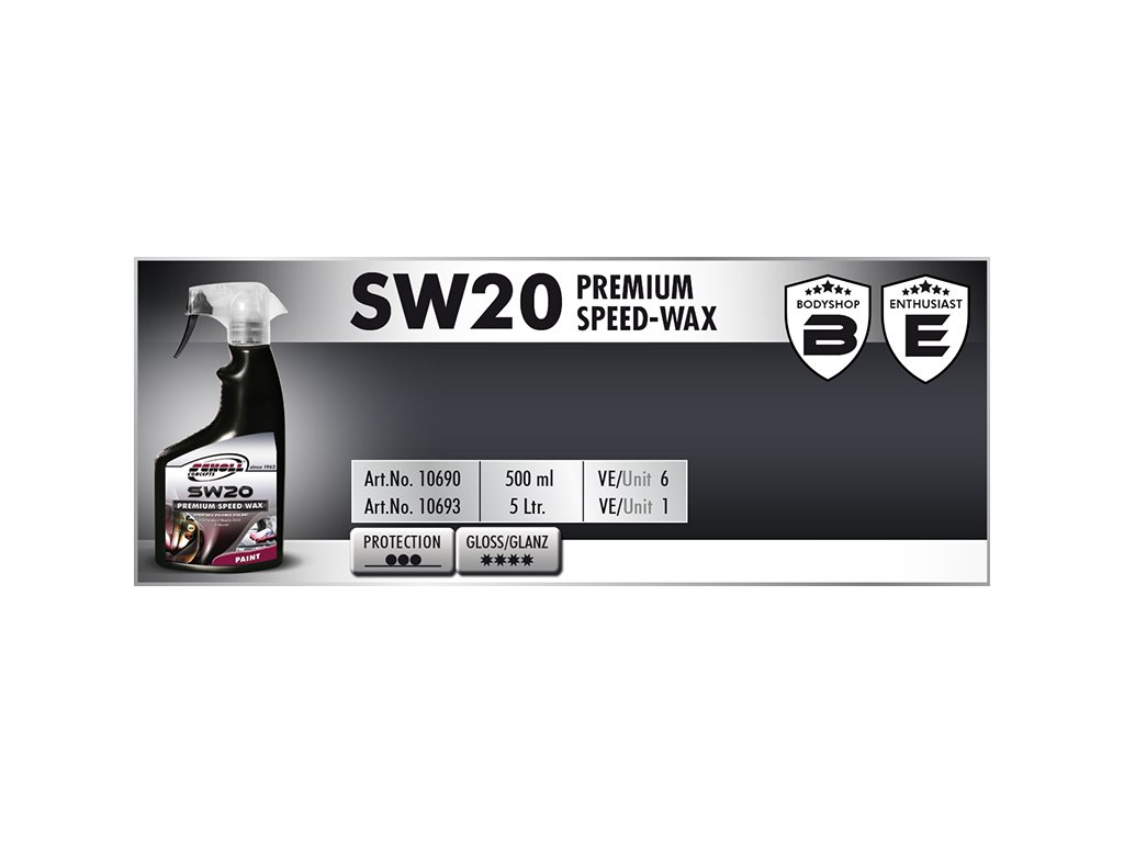Scholl SW20 Premium Speed Wax 500ml rychlovosk