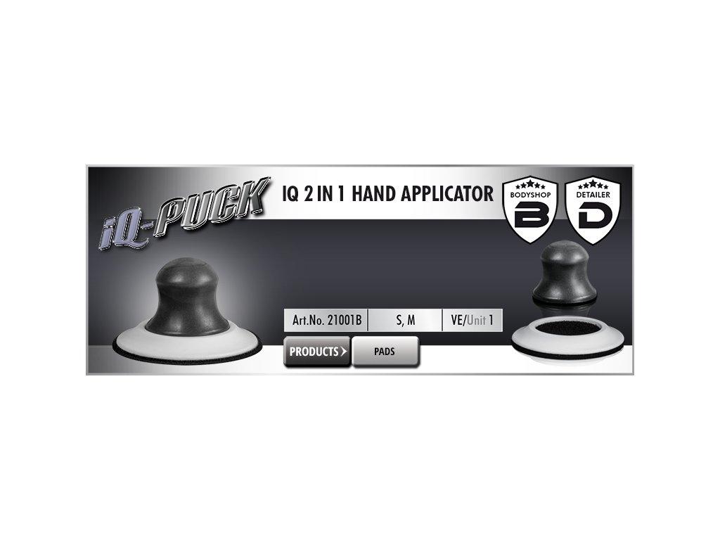 Scholl IQ 2 in 1 Hand Applicator 76 & 125mm ruční unašeč