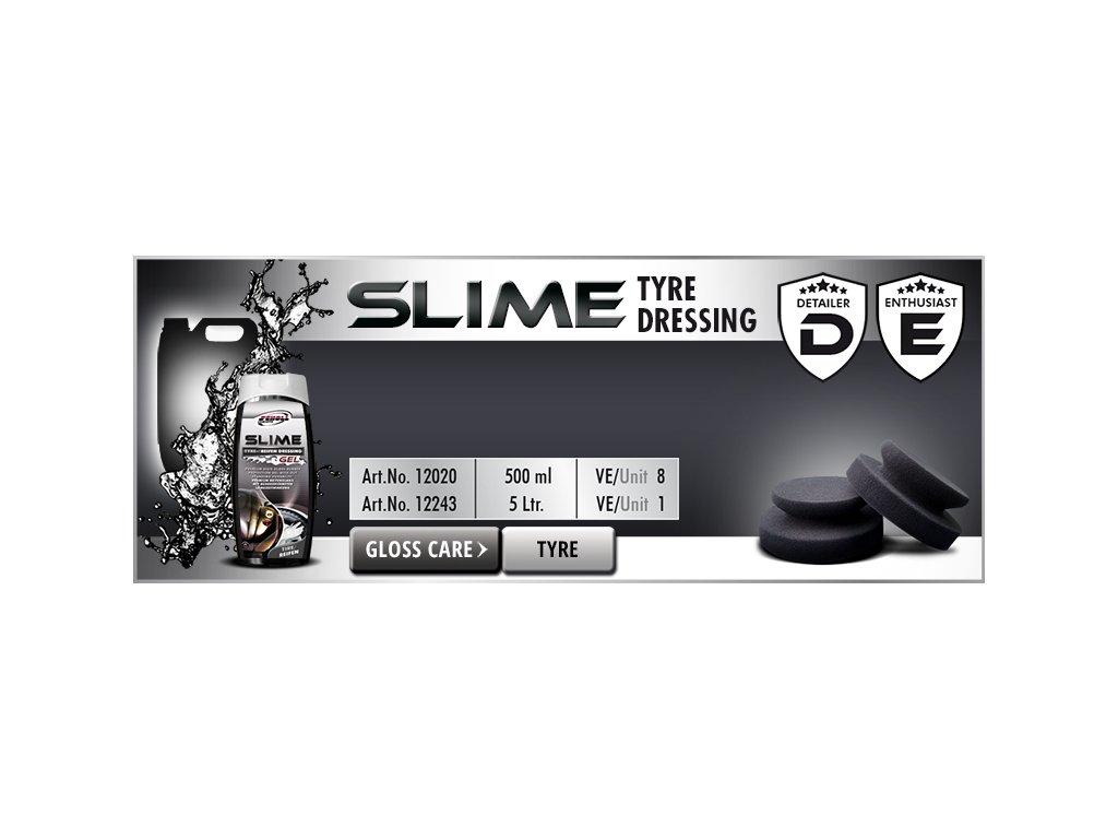 Scholl SLIME Tire Dressing Gel 5L impregnace pneu