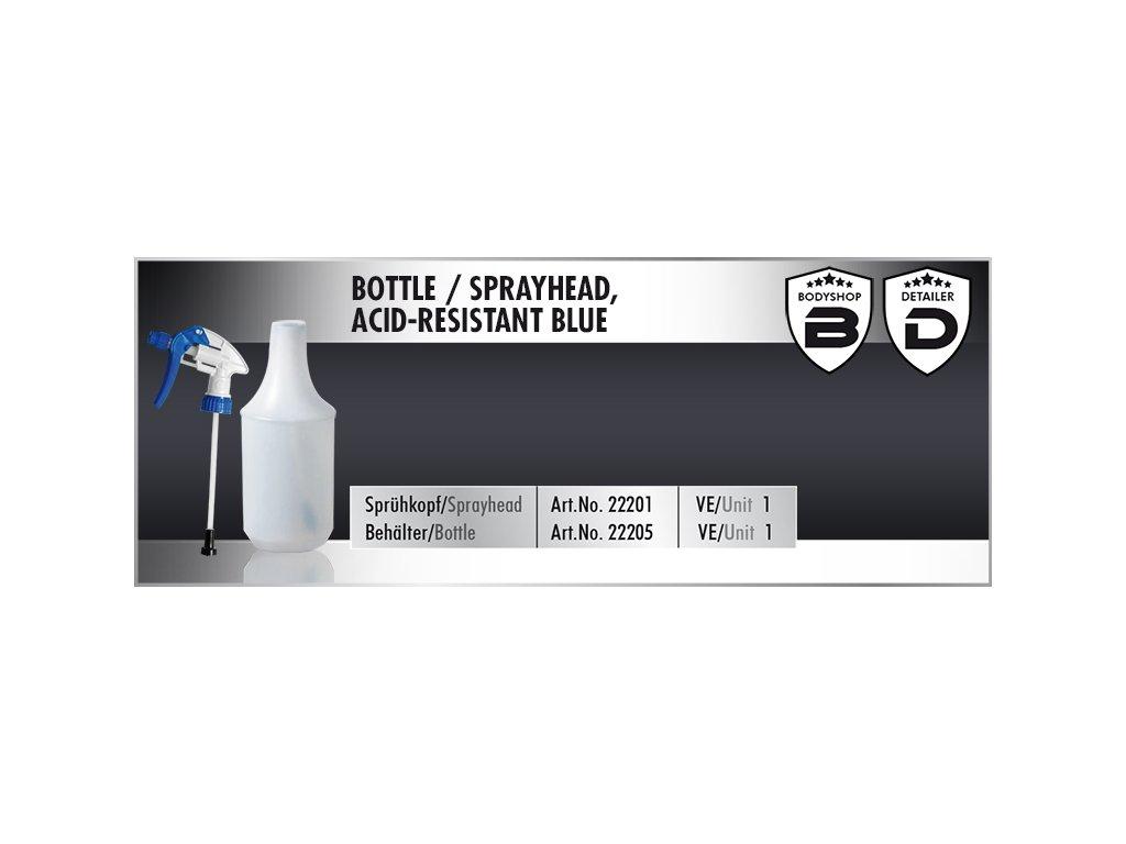 Scholl Sprayhead acid-resistant blue chemicky odolný rozprašovač