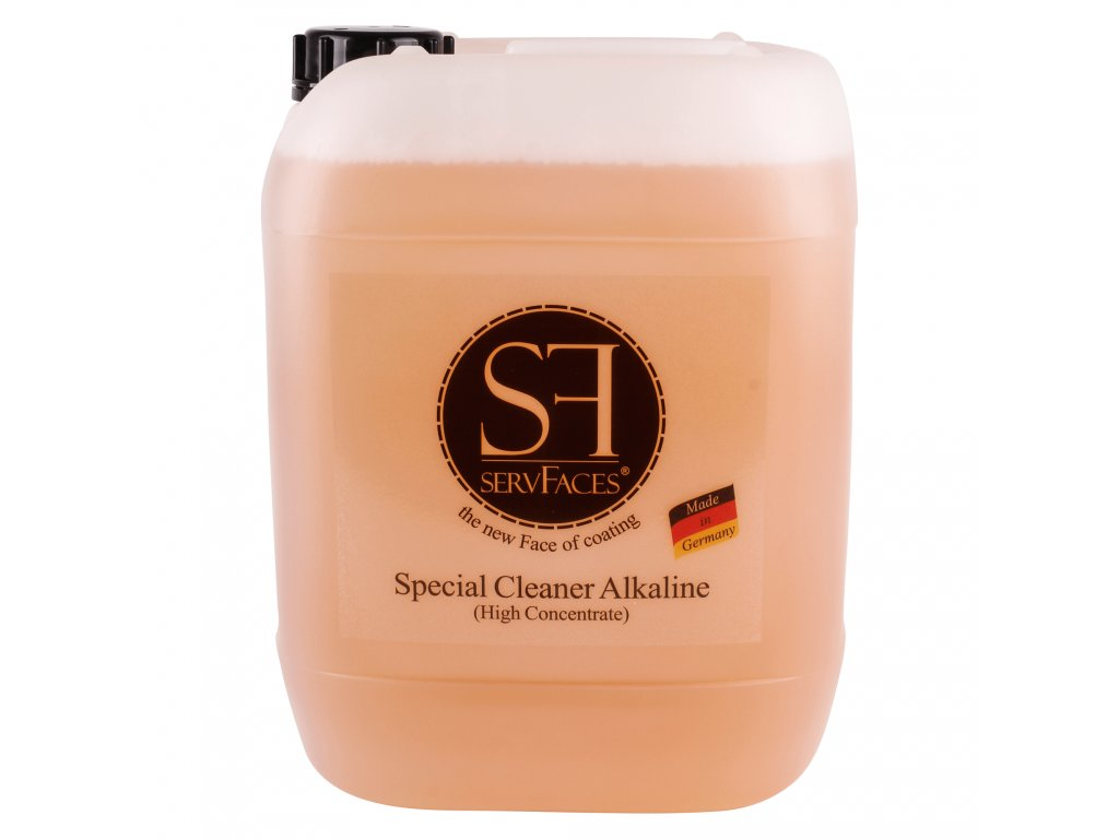 ServFaces Special Cleaner Alkaline 10L Univerzální alkalický čistič (koncentrát)