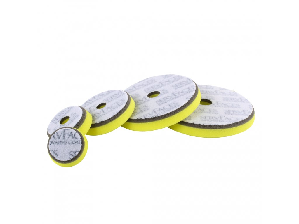 ServFaces Polishing sponge V1 Cut-Polish & Finish Polish 136/22mm leštící kotouč