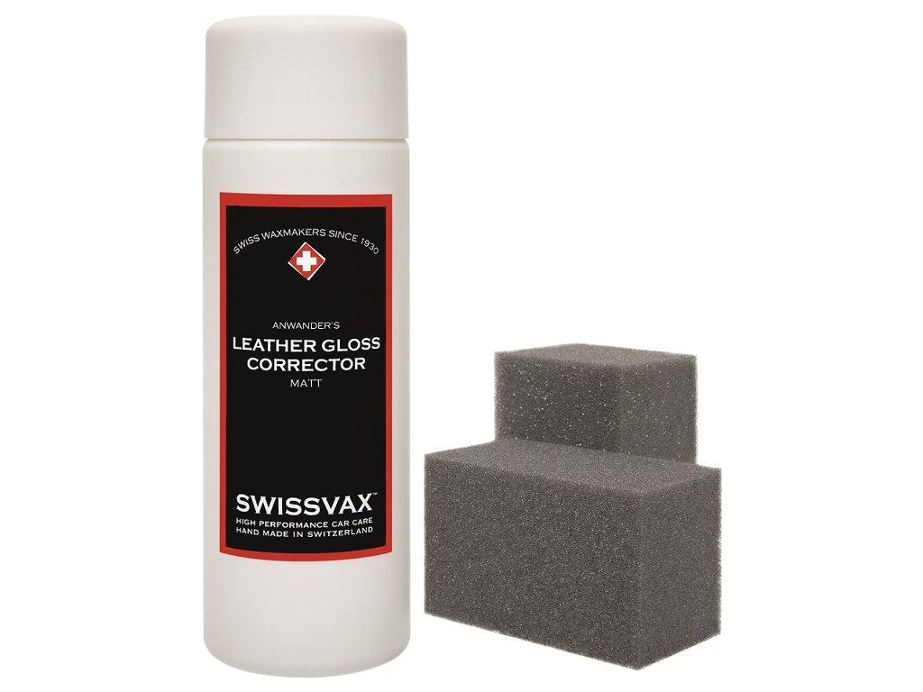 swissvax leather gloss corrector matt 150