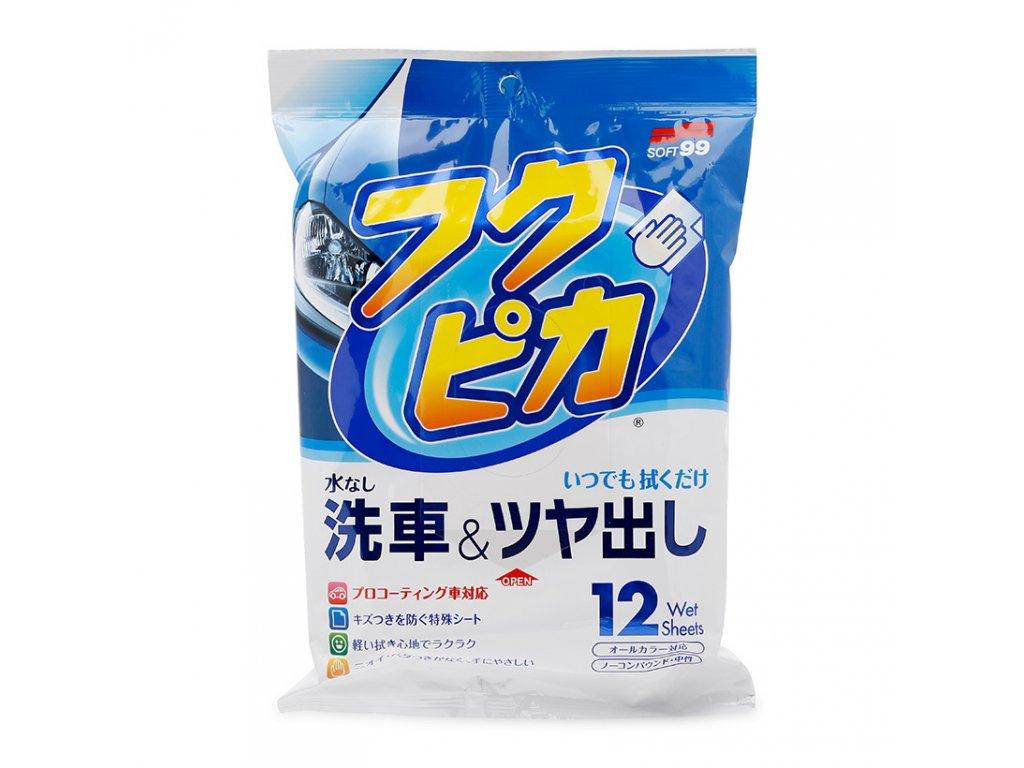 soft99 fukupika wash wax