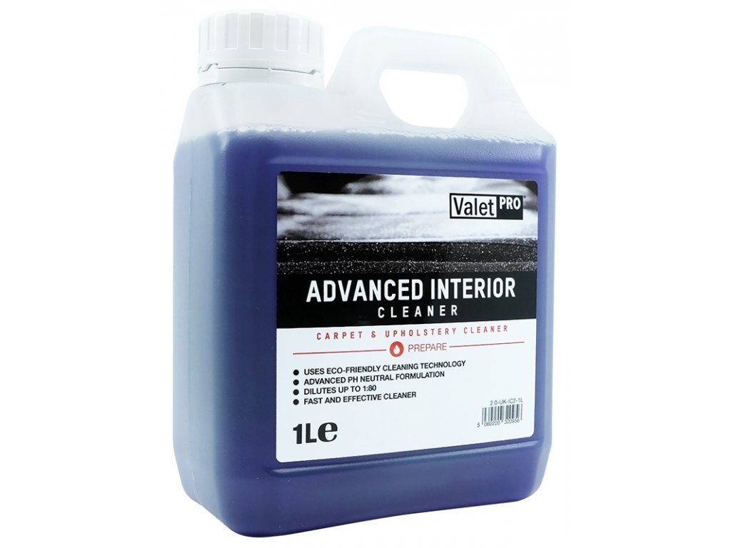 valetpro advanced interior cleaner 1l