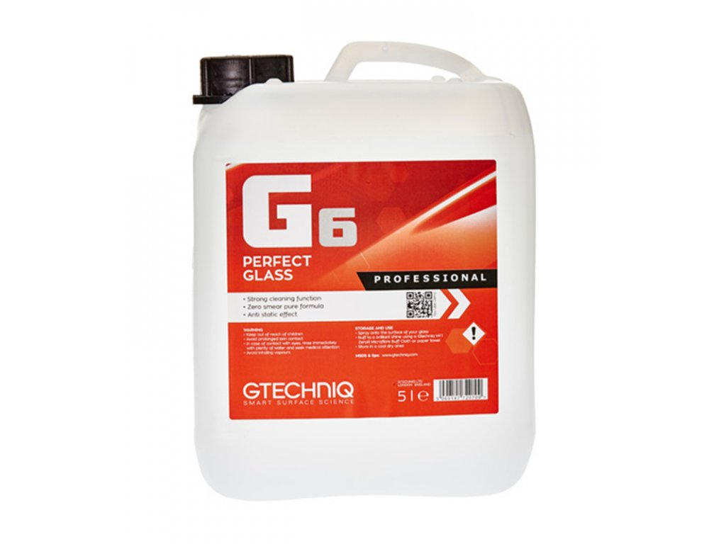 Gtechniq G6 Perfect Glass 5L