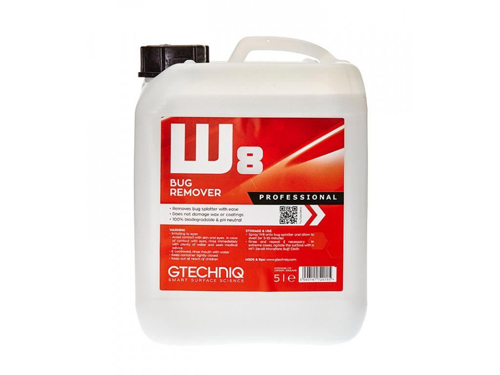Gtechniq W8 Bug Remover 5L